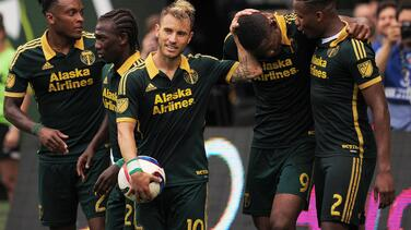 Portland Timbers se aprovechó de un disminuido Seattle Sounders y vence 4-1 en el Clásico Cascadia