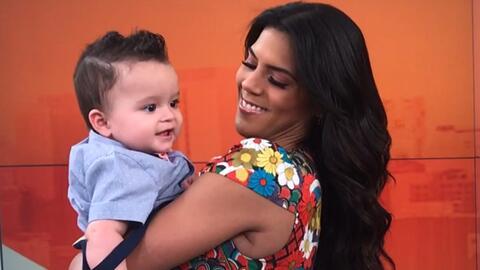 Así cuidó Francisca Lachapel a Gael mientras Ana Patricia trabajaba, ¿será que se le está antojando ser mamá?