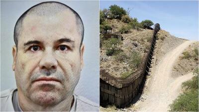 ¿Podría la fortuna de 'El Chapo' pagar por el muro fronterizo que quiere construir Donald Trump?
