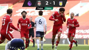 Liverpool por fin gana en Anfield después de cuatro meses