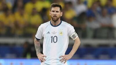 "Lionel Messi: ""Brasil maneja todo en Conmebol"""