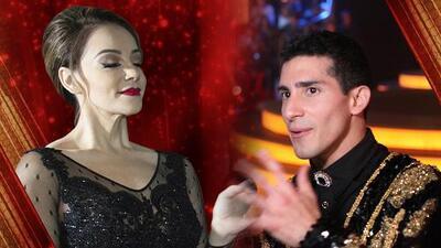 Rosie se ve bailando con Lupillo Rivera en la sexta gala y Rommel espera ansioso el resultado de la votación