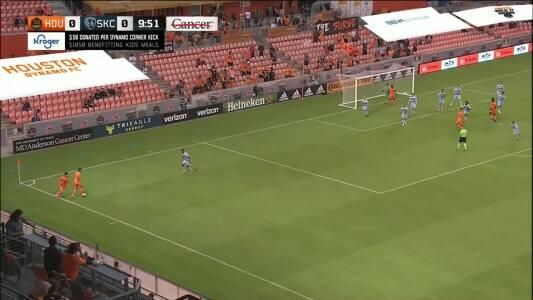 El Resumen: Con gol del argentino Maxi Urruti Houston venció al Sporting KC de Alan Pulido