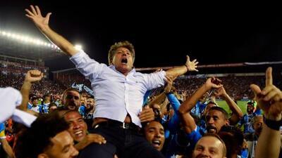 Técnico de Gremio alabó al Pachuca y el nivel de la Liga MX