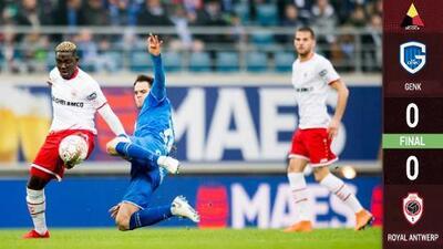 Omar Govea juega los 90' en duelo por el liderato entre el Royal Antwerp y el Gent