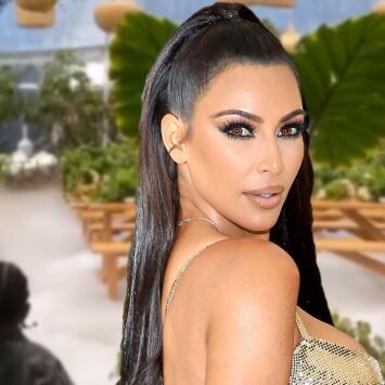 Kim Kardashian manda a construir un 'Jurassic Park' para celebrar los 4 años de su hijo Saint