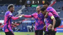 PSG derrota al Lens y toma el liderato momentáneamente
