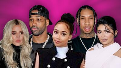 Todo queda en familia: el clan Kardashian Jenner comparte apellido y unos cuantos ex