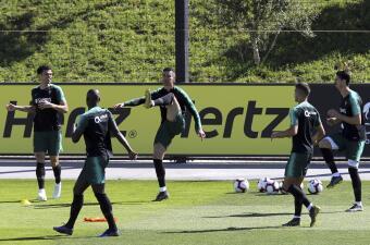 Así lució Cristiano Ronaldo en su ansiado regreso con la Selección de Portugal