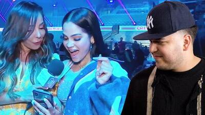 Natti Natasha revela si Rob Kardashian la ha invitado a salir o su contacto solo es por redes sociales