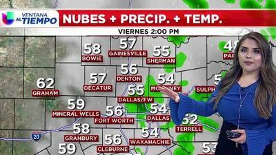 'Dallas en un Minuto': Un día lluvioso, el pronóstico del clima para este viernes