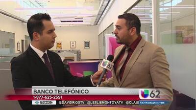 Banco telefónico de inmigración con Univision 62