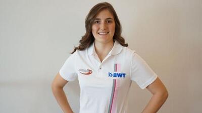 Colombiana Tatiana Calderón será piloto en la Fórmula 2