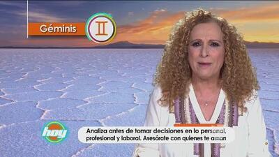 Mizada Géminis 13 de abril de 2016