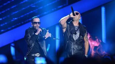 Exclusiva: Tras años de separación, Wisin y Yandel se unen de nuevo sobre un escenario