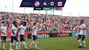 Team USA golea a Costa Rica ¡con suplentes europeos!