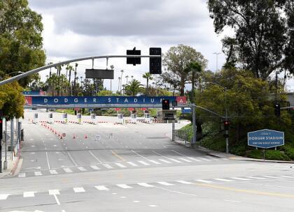 El estadio de Los Angeles Dodgers pospuso la apertura de la Liga Mayor de Beisbol de la temporada 2020 agendada para el pasado 25 de marzo. <br>