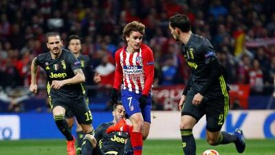Cómo ver Juventus vs. Atlético de Madrid en vivo, Champions League
