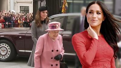 Kate Middleton logra su cita a solas con la reina Isabel, pero no se compara con la experiencia de Meghan Markle