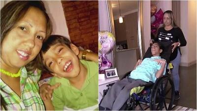 Le dijeron que su hijo no viviría más de una semana y ya tiene 15 años: esta es la historia de Beyker
