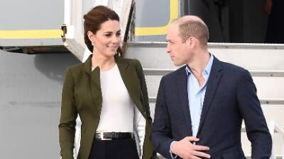 El príncipe William hace una 'broma' de mal gusto a Kate en público… y ella no se queda callada