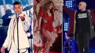 Jennifer Lopez y Marc Anthony lograron hacer lo imposible: unir desde Kim Kardashian hasta Bad Bunny en una noche histórica por Puerto Rico y México