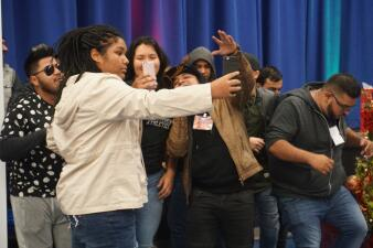 Univision Went To Memorial High School To Make Some Spirits Shine Bright
