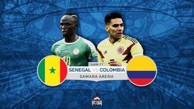 Colombia a imponer su fútbol ante Senegal por el  pase a octavos de final