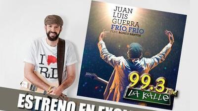La Kalle 99.3 FM te presenta en exclusiva el estreno del nuevo sencillo de Juan Luis Guerr