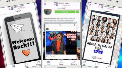 ¿Ya descargaste Univision Conecta? Mira lo que te estás perdiendo