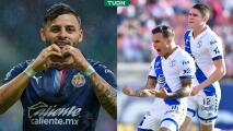 "Puebla reaccionó al gol de Alexis Vega: ""Mis Chivas"""