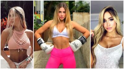 El boxeo como estilo de vida: ella es Valeria Ortíz con sus excelentes resultados en el gimnasio