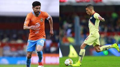 Oribe Peralta y Mateus Uribe serán baja de América, por tres semanas