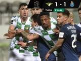 Tecatito no completa partido en empate del Porto ante Moreirense