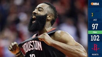 El Jazz regresa de México y se topa con la barba de James Harden