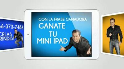 Gana un mini iPad escuchando el show de Raúl Brindis