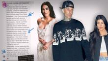 Acusan a Kim Kardashian de acabar con el matrimonio de Travis Barker, la actual pareja de su hermana Kourtney