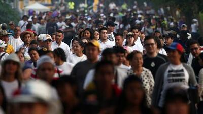 Así llegaron ya miles al lugar del concierto Aid Live Venezuela