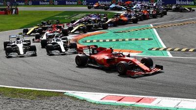 Charles Leclerc logra su segunda victoria con Ferrari en Monza
