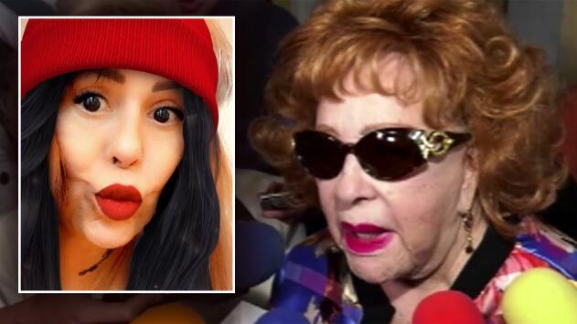 """""""Pobre de mi hija"""": Silvia Pinal defiende a Alejandra Guzmán de las críticas por sus fotos"""