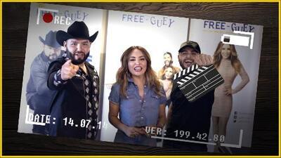 'Bloopers': Gerardo Ortíz le enseña a hacer Televisión a El Free-guey show