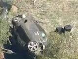 Tiger Woods sufrió aparatoso accidente y fue hospitalizado