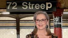 """Transforman estación de subway en """"72 Streep"""" por el cumpleaños de Meryl Streep"""