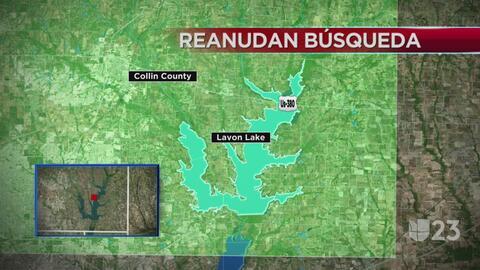 Reanudan la búsqueda de un adolescente que cayó en el lago Lavon