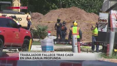 Muere trabajador que cayó en zanja en sitio de construcción en Dekalb