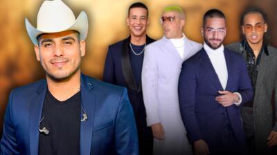 Así se coló Espinoza Paz en una categoria dominada por el reggaetón