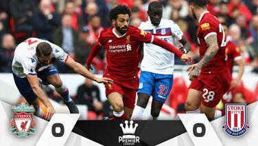 El Liverpool, con la mente en Roma, empata sin goles ante el Stoke