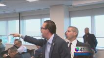 Entre protestas, se realiza reunión de la junta de control fiscal para Puerto Rico