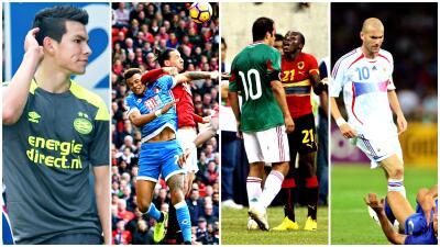 Los cracks más vengativos del fútbol mundial: de 'Chucky' Lozano a Zlatan y de Cuauhtémoc a Zidane