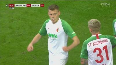 ¡No perdona! Finnbogason frustra el triunfo del Bayern con gol de último minuto
